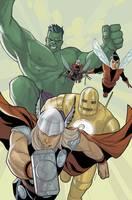 Avengers: The Origin (Hardback)