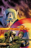 Captain America: Forever Allies (Paperback)