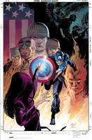 Captain America: Forever Allies (Hardback)