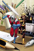 Ant-man & Wasp: Small World (Paperback)