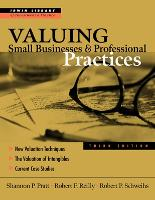 Valuing Small Businesses and Professional Practices - McGraw-Hill Library of Investment and Finance (Hardback)