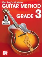 Modern Guitar Method Grade 3 Book