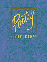 Poetry Criticism - Poetry Criticism 063 (Hardback)