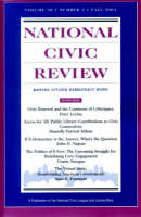 No. 3, Fall 2001: Digital Democracy: Civic Engagement in the Twenty-First Century - J-B NCR Single Issue National Civic Review (Paperback)