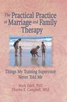 The Practical Practice of Marriage and Family Therapy: Things My Training Supervisor Never Told Me (Paperback)