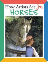 How Artists See Jr.: Horses - How Artists See Jr. (Board book)
