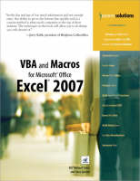VBA and Macros for Microsoft Office Excel 2007 (Paperback)