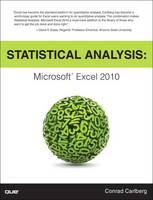 Statistical Analysis: Microsoft Excel 2010 (Paperback)
