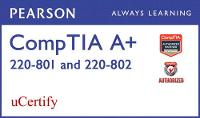 CompTIA A+ 220-801 and 220-802 Pearson uCertify Course Student Access Card (Digital product license key)