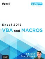 Excel 2016 VBA and Macros (includes Content Update Program) (Paperback)
