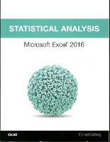 Statistical Analysis: Microsoft Excel 2016 (Paperback)
