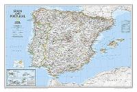 Spain & Portugal, Tubed: Wall Maps Countries & Regions (Sheet map, rolled)
