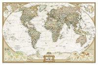 World Executive, Laminated: Wall Maps World (Sheet map)