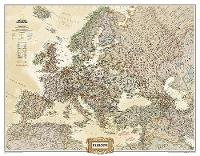 Europe Executive, Enlarged &, Tubed: Wall Maps Continents (Sheet map, rolled)