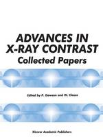 Advances in X-Ray Contrast: Collected Papers (Paperback)