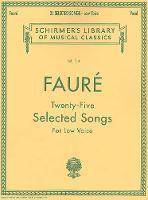 Twenty-Five Selected Songs (Book)