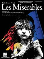 Selections from Les Miserables: Alto Saxophone (Paperback)