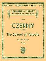 Carl Czerny: The School Of Velocity Op.299 (Complete) (Paperback)