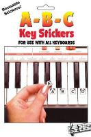A-B-C Key Stickers: For Use with All Keyboards