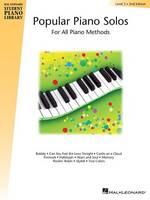 Hal Leonard Student Piano Library: Popular Piano Solos Level 3 (Paperback)