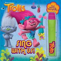 DreamWorks Trolls: Sing with Us! - Book with Microphone 1
