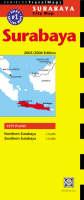 Surabaya Travel Map - Periplus Maps (Sheet map, folded)