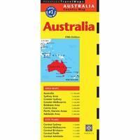 Australia Travel Map (Sheet map, folded)