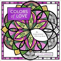Colors of Love: An Inspirational Coloring Book (Paperback)