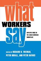 What Workers Say: Employee Voice in the Anglo-American Workplace (Paperback)