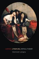 History, Literature, Critical Theory (Paperback)
