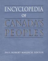 Encyclopedia of Canada's Peoples (Hardback)