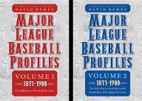 Major League Baseball Profiles, 1871-1900, 2-volume set