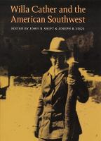 Willa Cather and the American Southwest (Hardback)