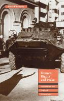 Human Rights and Peace: International and National Dimensions (Paperback)