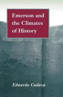 Emerson and the Climates of History (Paperback)