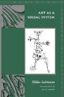 Art as a Social System - Meridian: Crossing Aesthetics (Paperback)
