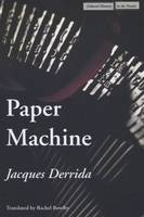 Paper Machine - Cultural Memory in the Present (Hardback)
