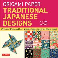 Origami Paper: Traditional Japanese Designs Large - Origami Paper Packs (Paperback)