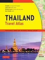 Thailand Travel Atlas (Paperback)
