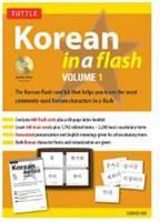 Korean in a Flash: Volume 1