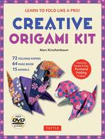 Creative Origami Kit: Learn to Fold Like a Pro!: Instructional DVD, 64-Page Origami Book, 72 Origami Papers: Original Easy Origami for Kids or Adults