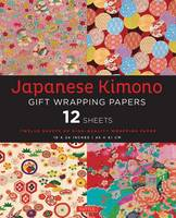 Japanese Kimono Gift Wrapping Papers: 12 Sheets of High-Quality 18 x 24 inch Wrapping Paper (Paperback)