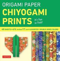 Origami Paper: Chiyogami Prints (Paperback)
