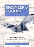 Engineer's Toolkit: A First Course in Engineering (Hardback)