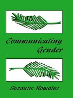 Communicating Gender (Paperback)