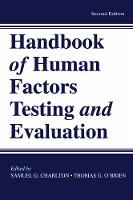 Handbook of Human Factors Testing and Evaluation (Paperback)