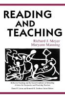 Reading and Teaching - Reflective Teaching and the Social Conditions of Schooling Series (Paperback)