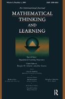 Hypothetical Learning Trajectories: A Special Issue of Mathematical Thinking and Learning (Paperback)