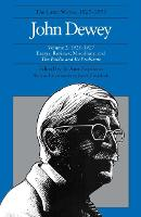 The Collected Works of John Dewey v. 2; 1925-1927, Essays, Reviews, Miscellany, and the Public and Its Problems: The Later Works, 1925-1953 (Hardback)