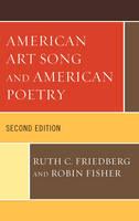 American Art Song and American Poetry (Hardback)